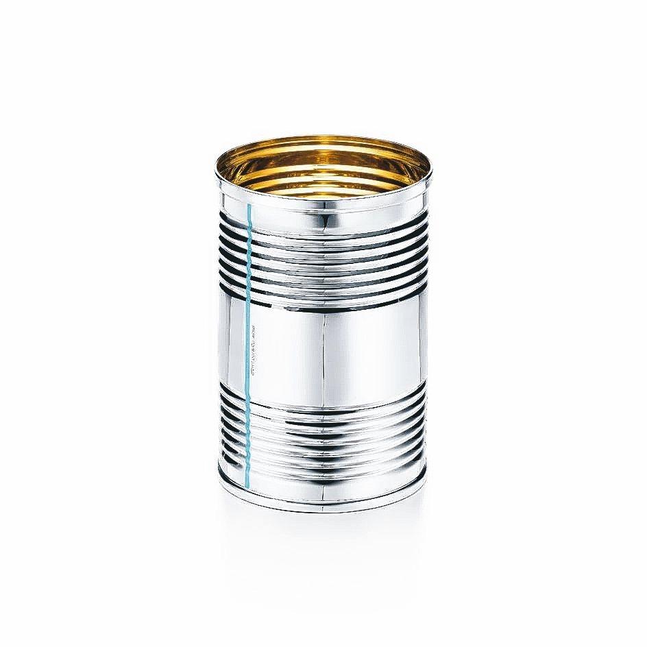 純銀置物罐/36500元。 Tiffany/提供