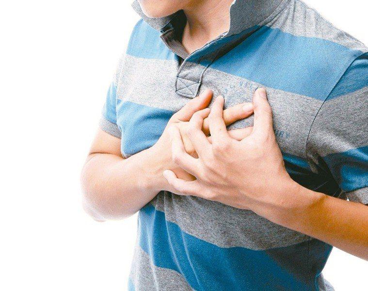 只要一條領帶,就能搶救「心肌梗塞」?圖/聯合報系資料照片