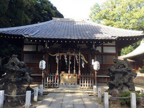 平塚神社規模宏大
