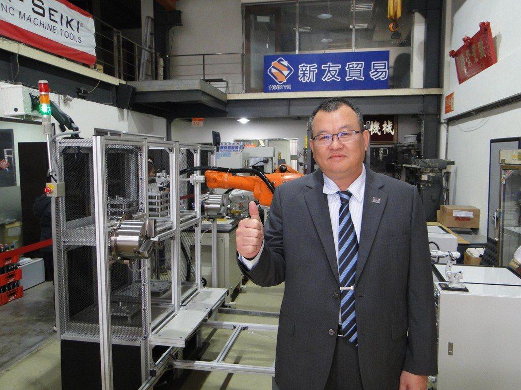 深石科技股份有限公司總經理吳耀宗。 黃逢森/攝影