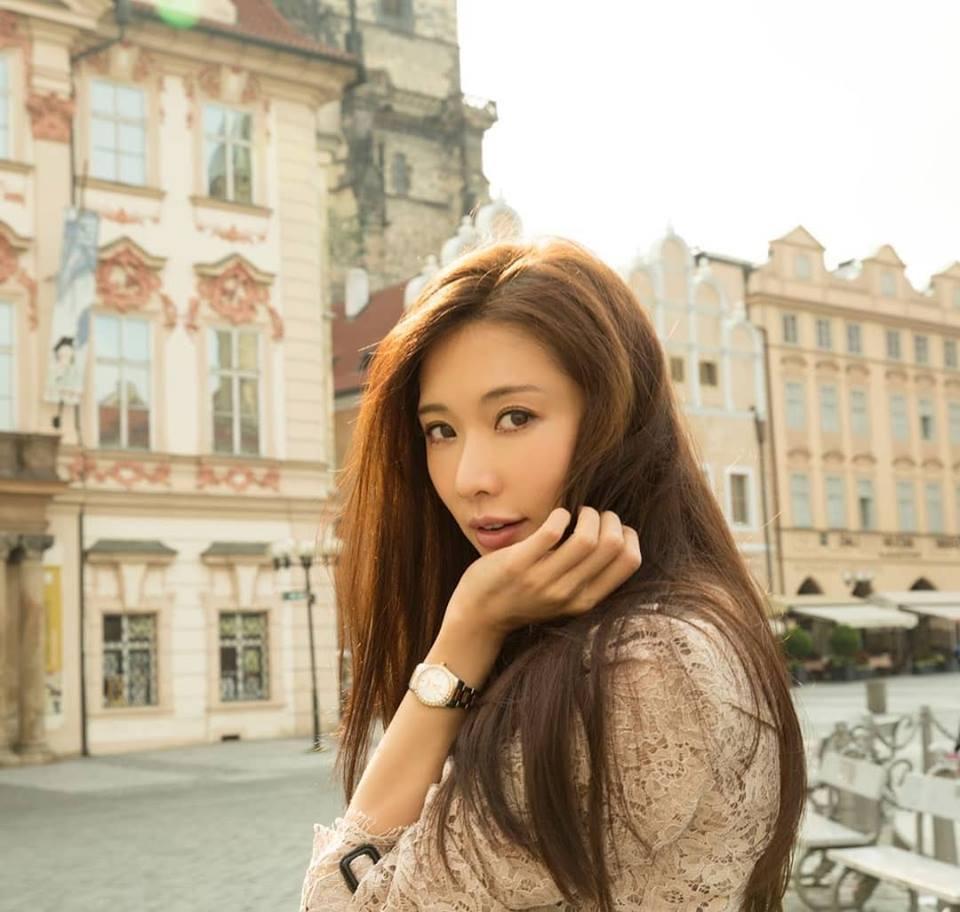 林志玲被傳出因為戲分少而不願宣傳「西遊記女兒國」。圖/摘自臉書