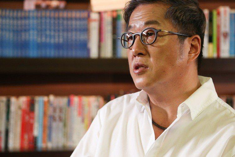 王偉忠自豪是在快樂家庭中長大的。圖/記者陳立凱攝影