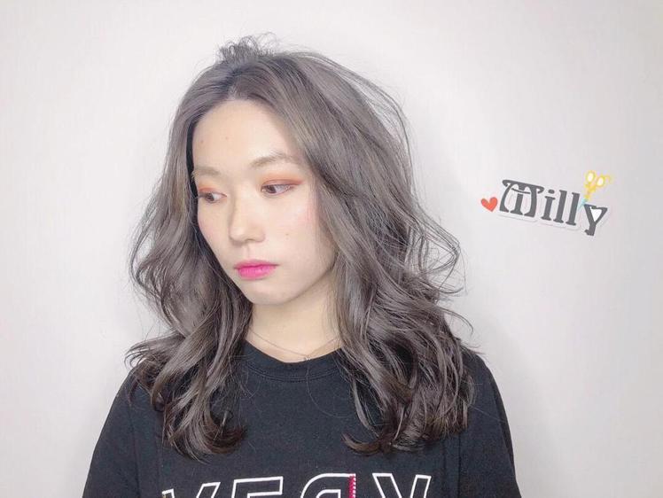 髮型創作/Milly (米莉)。圖/HairMap美髮地圖提供