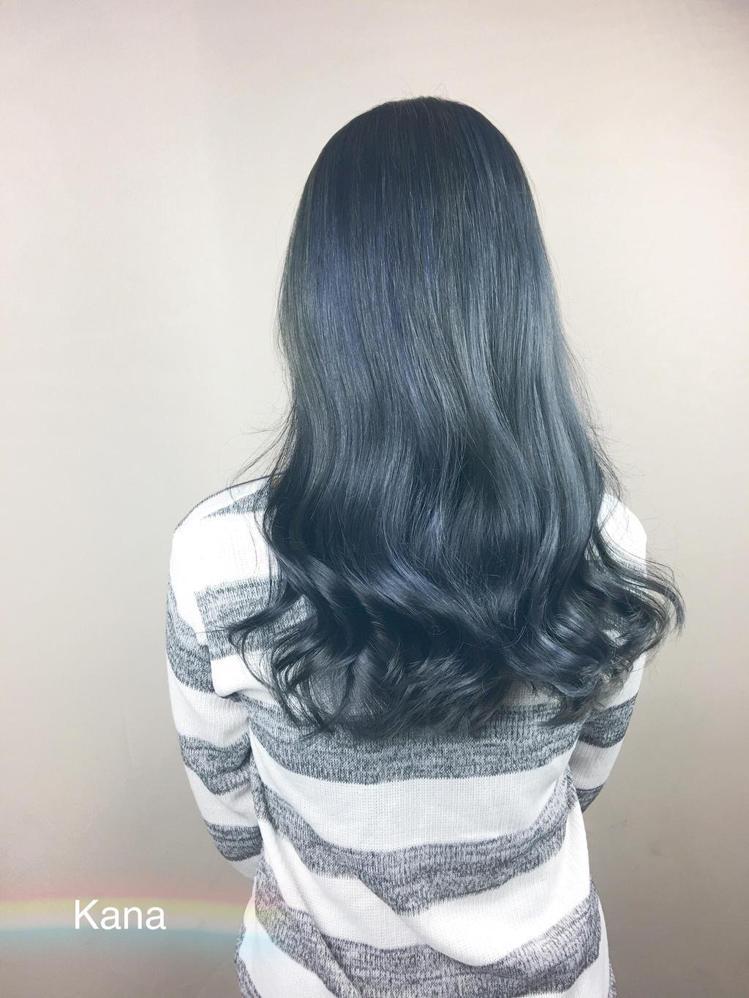 髮型創作/卡娜 kana。圖/HairMap美髮地圖提供
