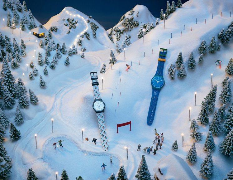 平昌冬季奧運即將開跑,不能親自到場觀賽也沒關係,SWATCH特別為了這場運動盛事...