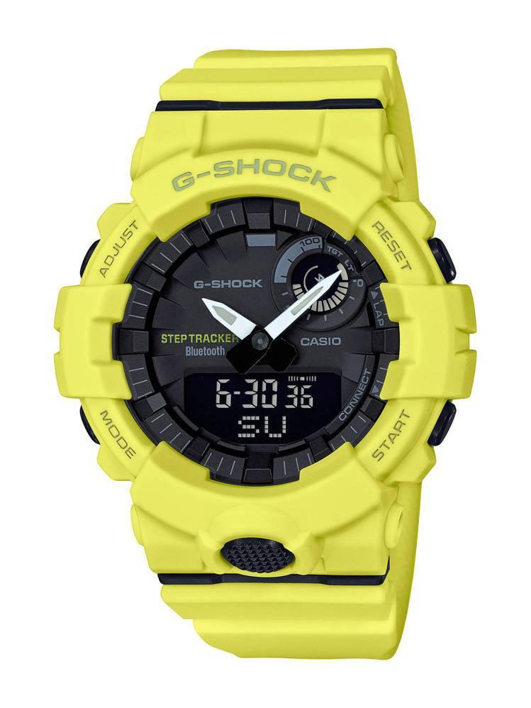 G-Shock G-Squad系列GBA-800-9A腕表,約4,200元。圖/...