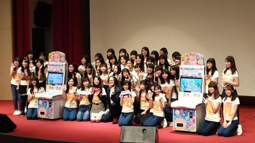 TPE48立刻獲得遊戲代言機會。記者李姿瑩/攝影