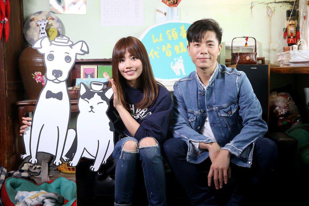吳汶芳(左)與韋禮安(右)。記者余承翰/攝影