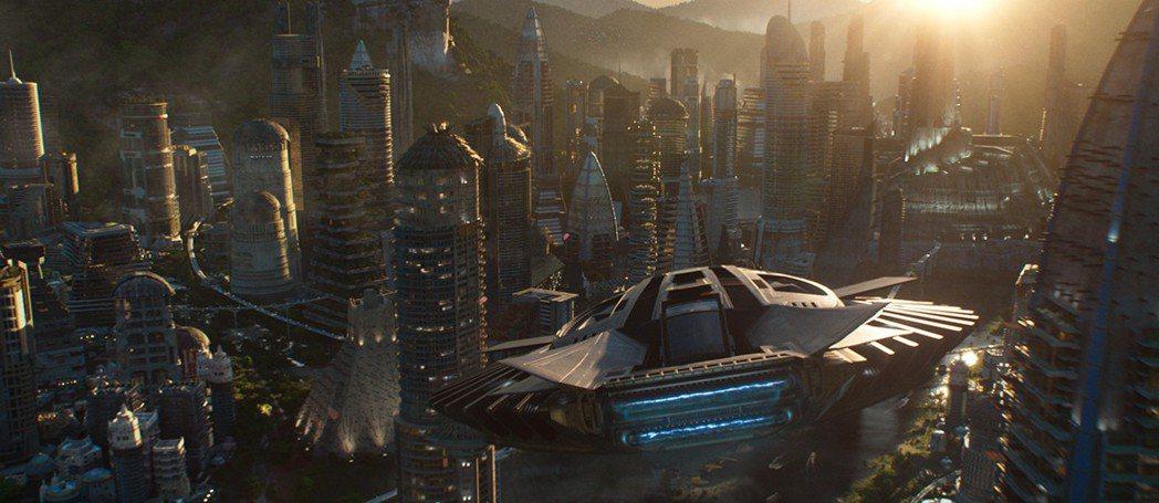 超酷炫的3D動畫場景,也是本片值得進戲院細細品味的理由之一唷! 圖/Walt D...