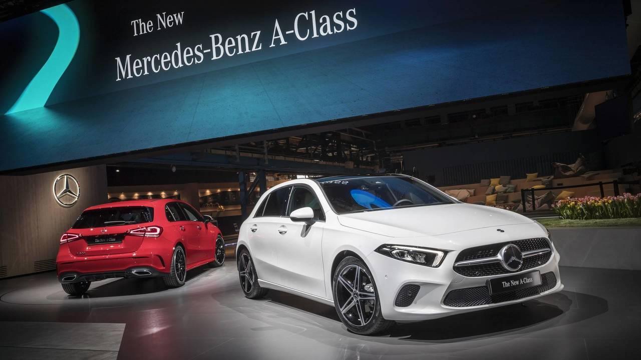 ALL NEW A-Class。 摘自Mercedes-Benz