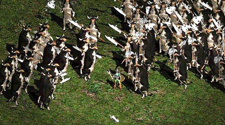 《暗黑破壞神II》的乳牛關