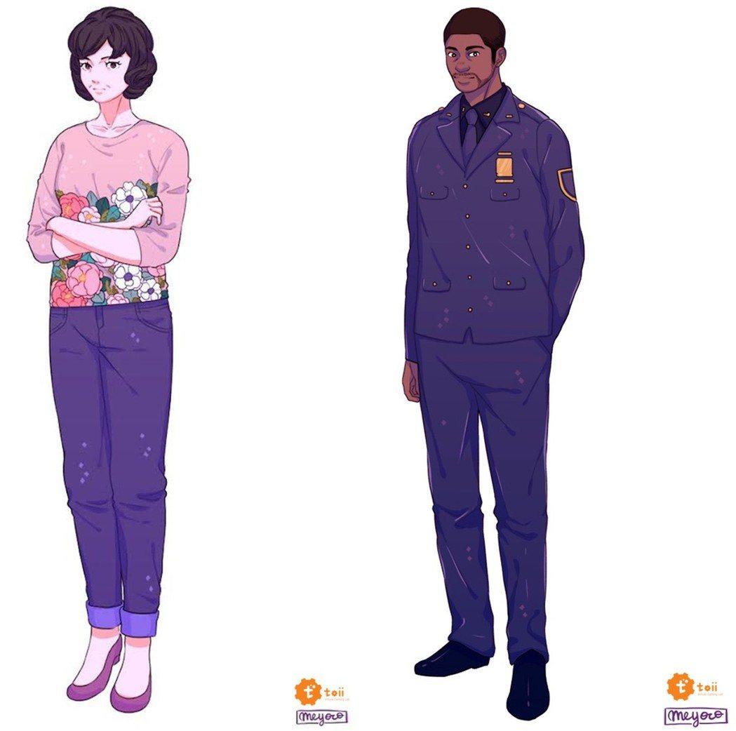 左:關鍵配角 林媽媽(Danny's Mother) / 右:關鍵配角 葛瑞格•...