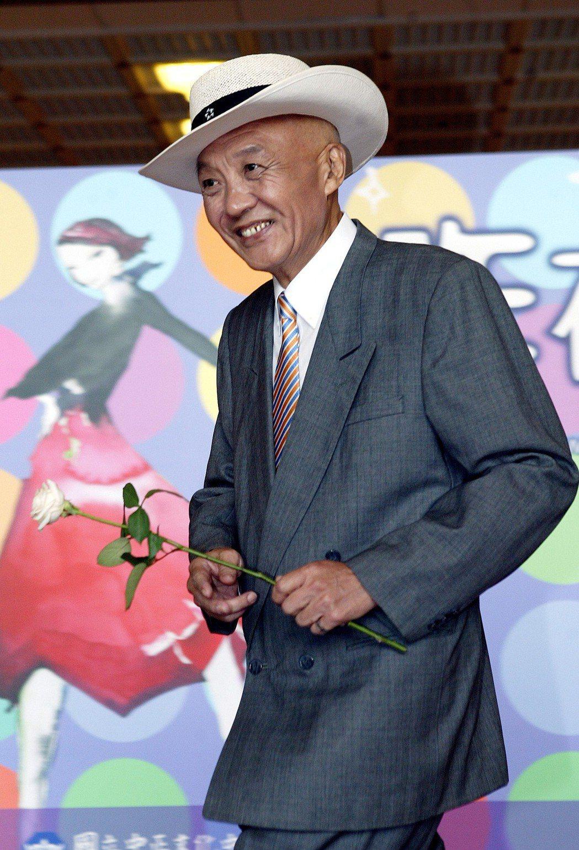 2005乾德門參加屏風「昨夜星辰」記者會。聯合報系資料照   記者林承樺/攝影