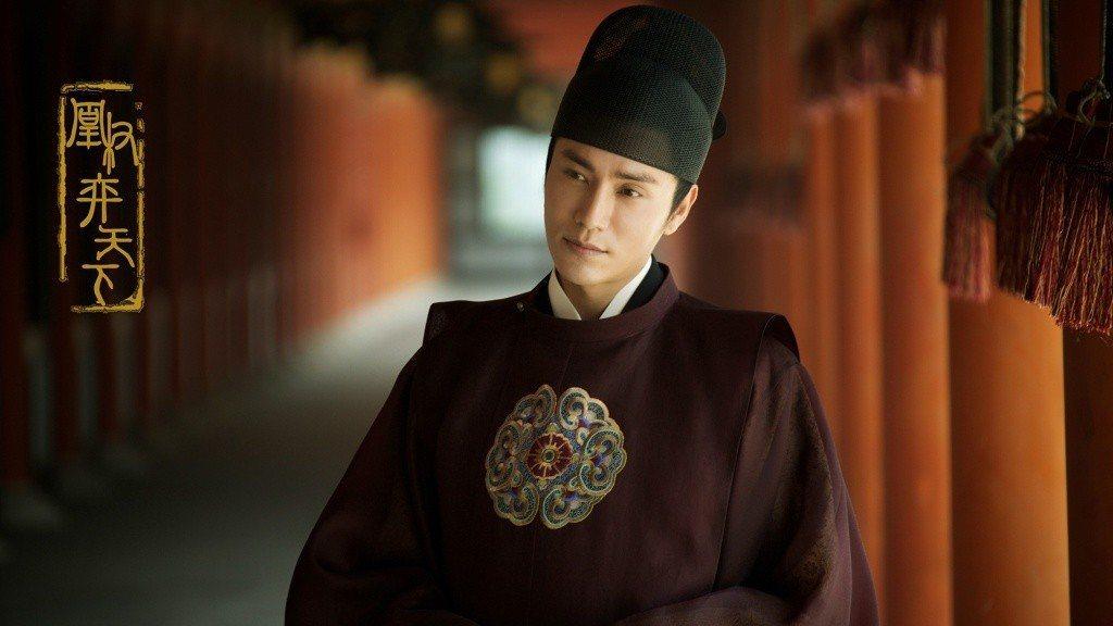 陳坤主演「凰權·弈天下」超高顏值,劇照釋出即被網友評為最完美男主角。圖/摘自微博