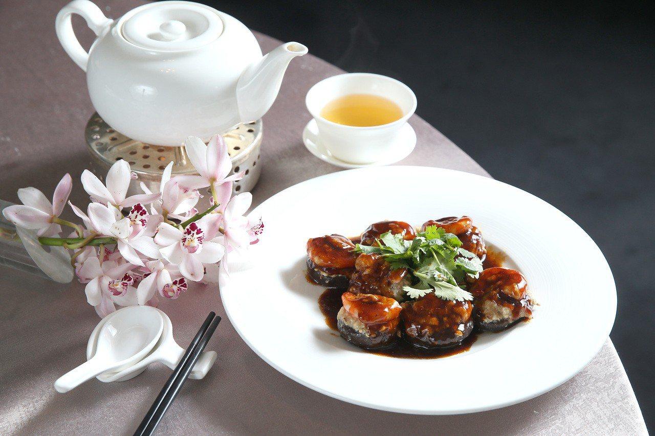 晶華酒店琵琶豆腐。記者高彬原/攝影