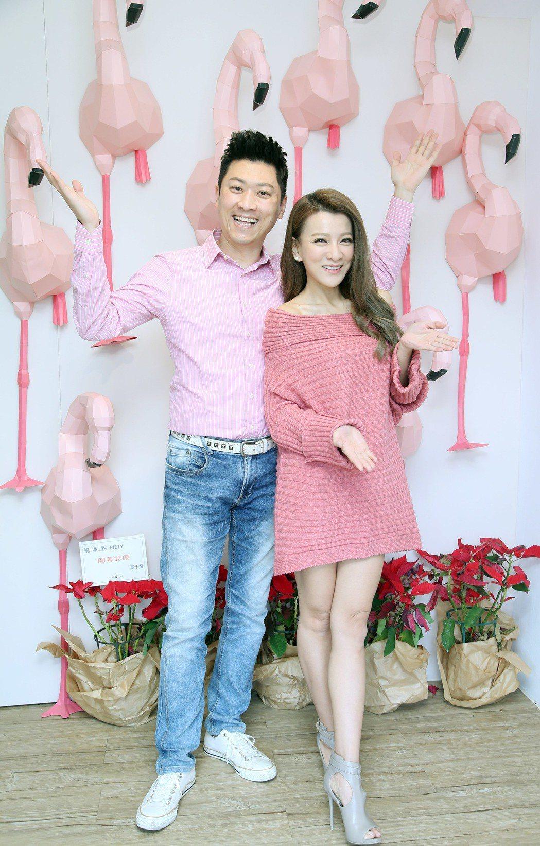 侯昌明曾雅蘭夫妻。記者陳瑞源/攝影
