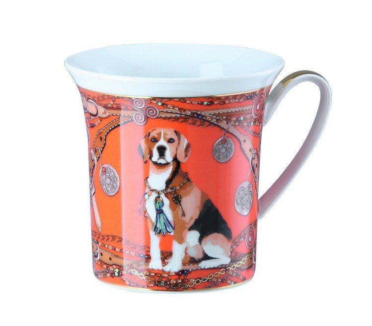 Rosenthal 2018狗年生肖馬克杯,售價3,900元。圖/集雅廊提供