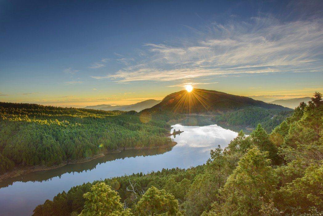 太平山國家森林遊樂園走春,來趟森林之旅。圖/林務局提供