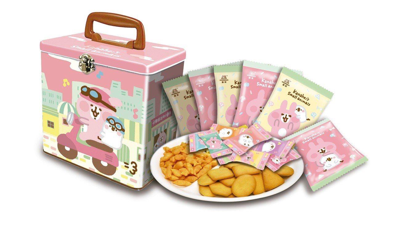 森永精緻禮盒-卡娜赫拉的小動物,售價299元。圖/7-ELEVEN提供