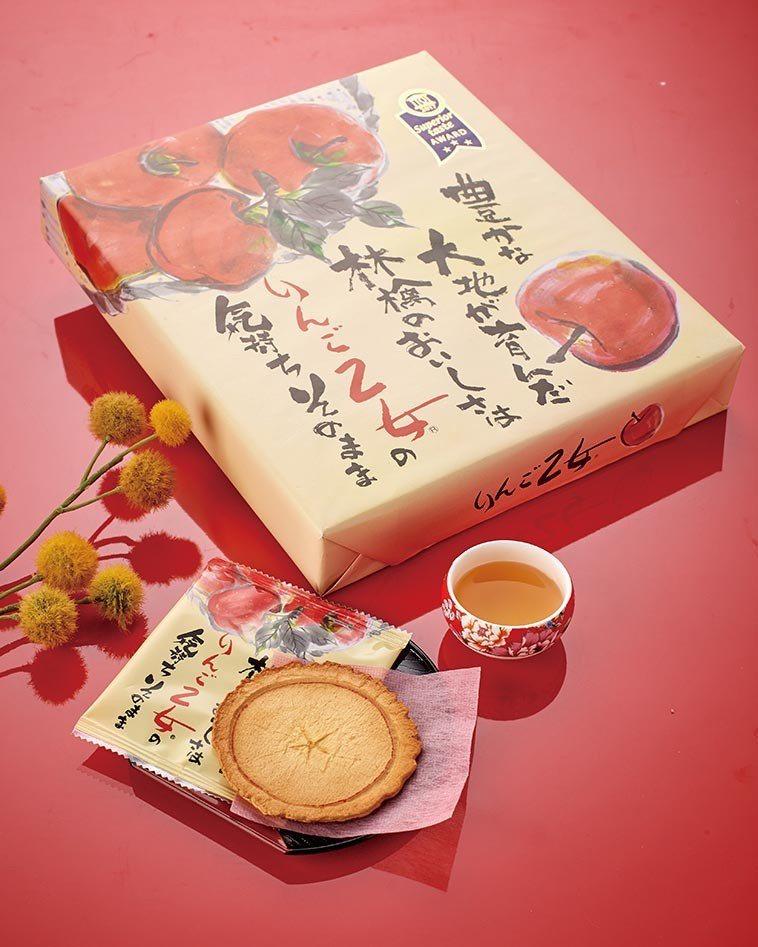 日本進口蘋果薄煎餅,售價388元。圖/家樂福提供