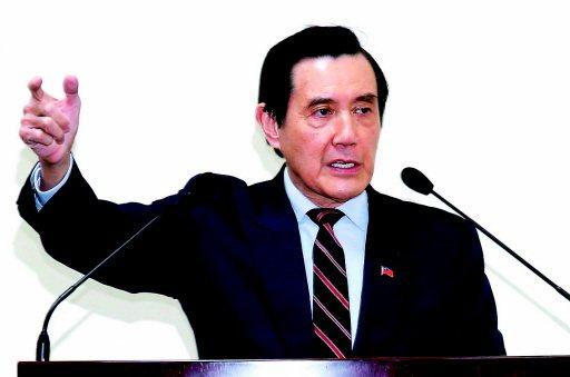 前總統馬英九。 聯合報系資料照