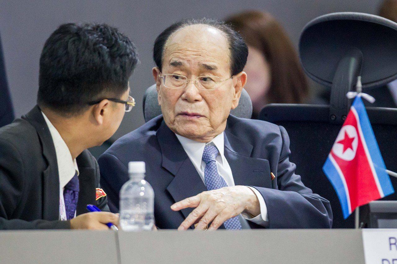 北韓派名義元首金永南赴冬奧 宣傳北韓是正常國家?