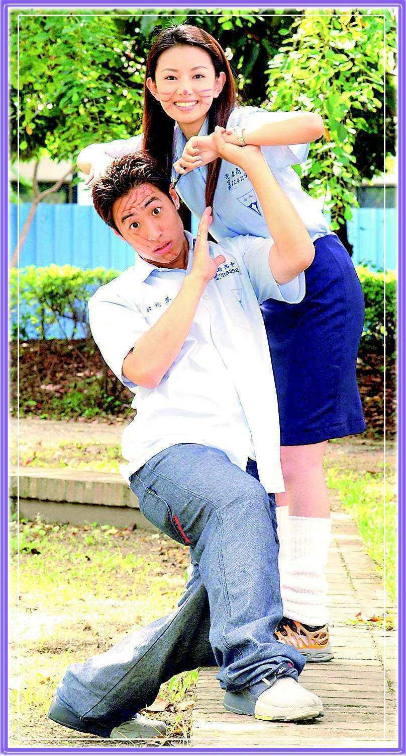 後藤希美子(後)曾與潘瑋柏合作「麻辣鮮師」。圖/華視提供