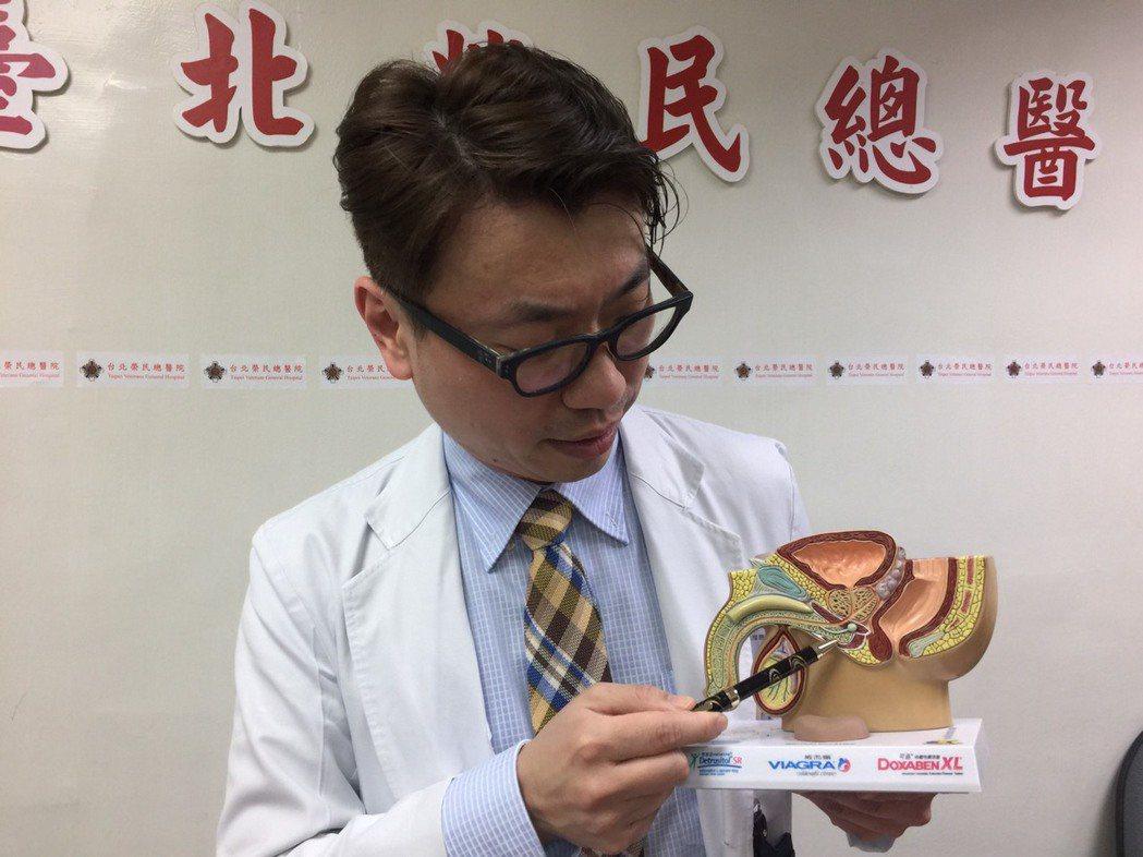 台北榮總泌尿部主治醫師林志杰表示,尿道狹窄常發生在尿道發炎、車禍外傷、尿道接受某...