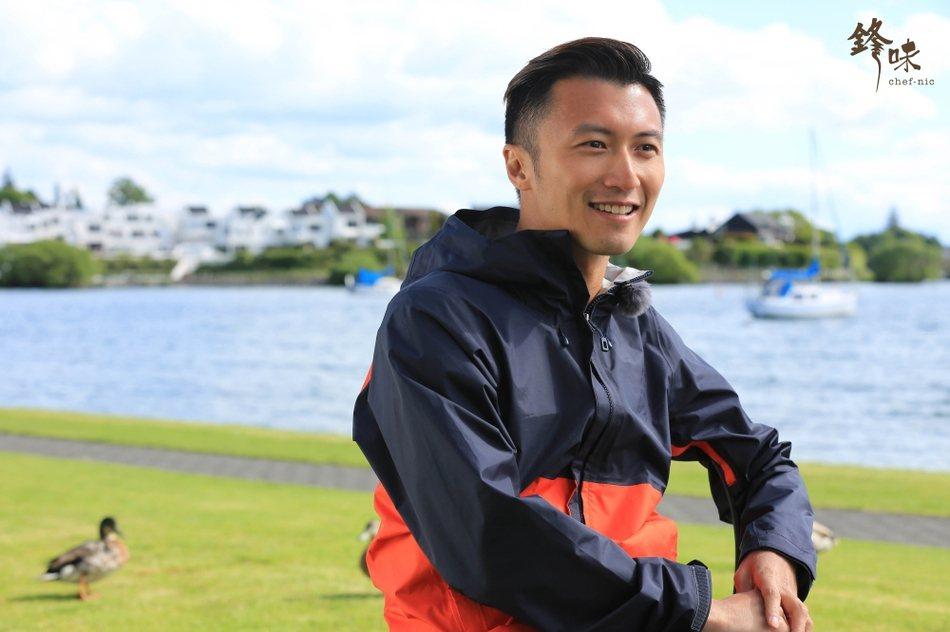 謝霆鋒最新一集「鋒味」到紐西蘭出外景。圖/摘自微博