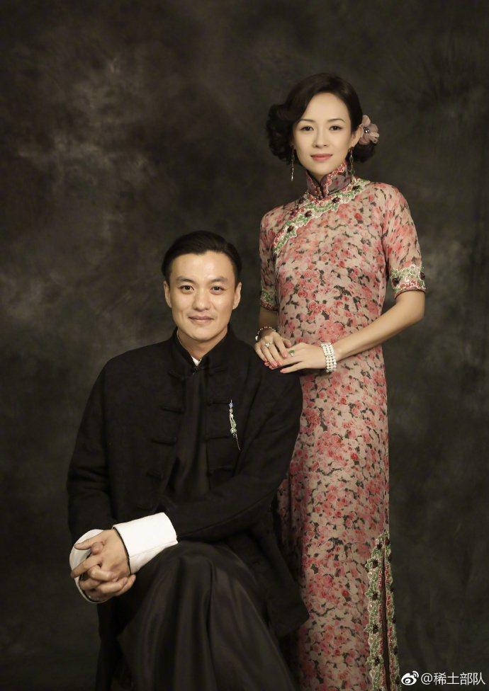 章子怡與周一圍在「演員的誕生」中復刻演出「胭脂扣」。圖/摘自微博