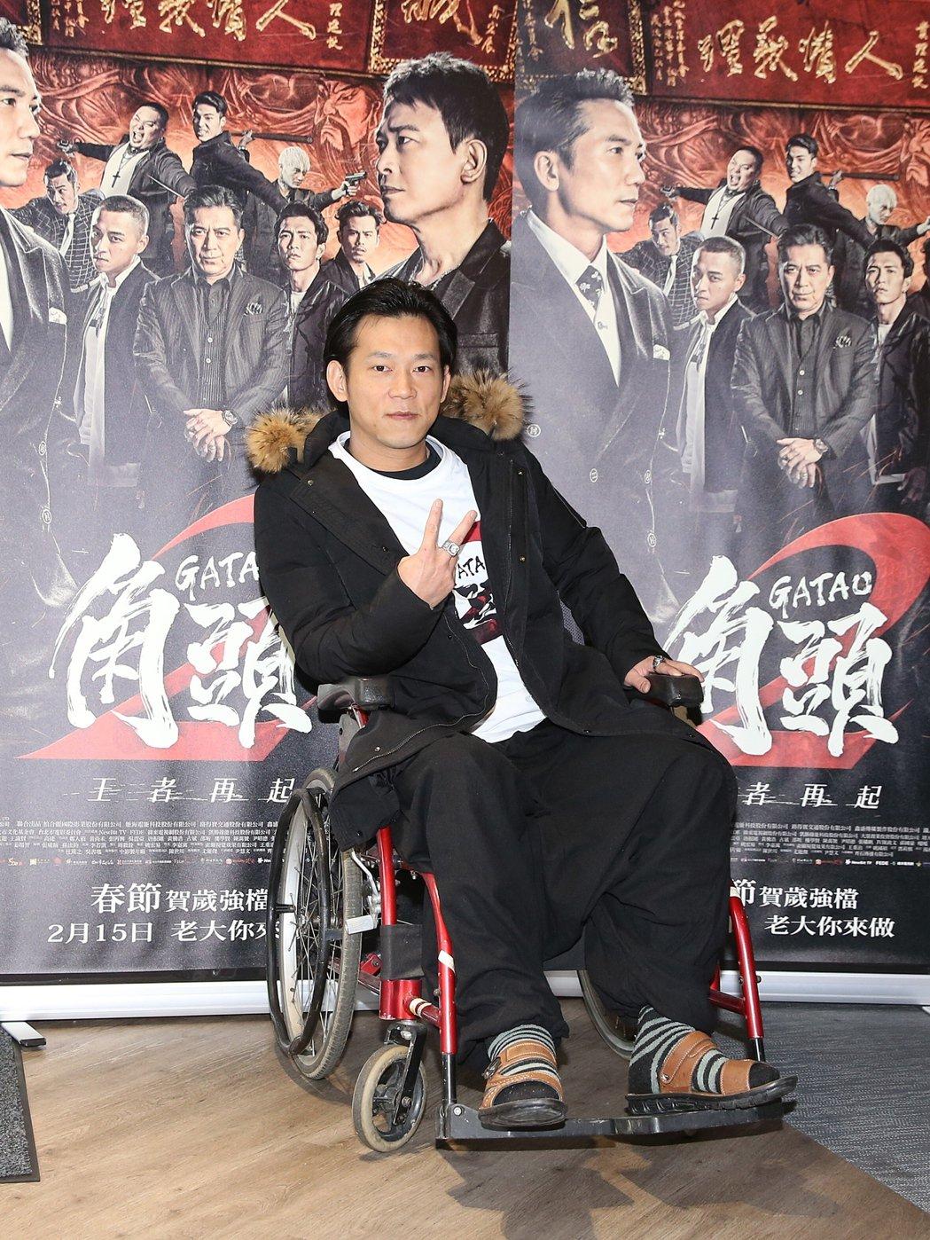電影「角頭2」,導演顏正國。記者楊萬雲/攝影