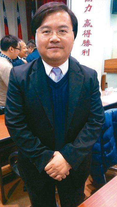台灣經濟研究院兩岸中心主任陳華昇。記者戴瑞芬/攝影