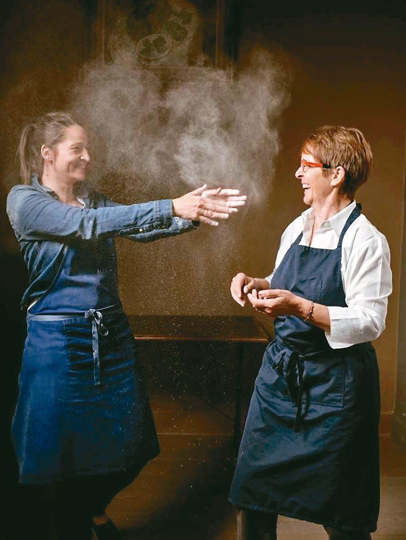 法國米其林星級主廚,回到鄉村與女兒打造無麩質料理餐廳。 圖/有行旅提供