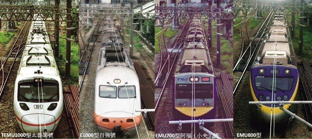 2016年2月26日從復興陸橋下通行的火車,紀錄了這條鐵道與這座路橋的交通奉獻。...
