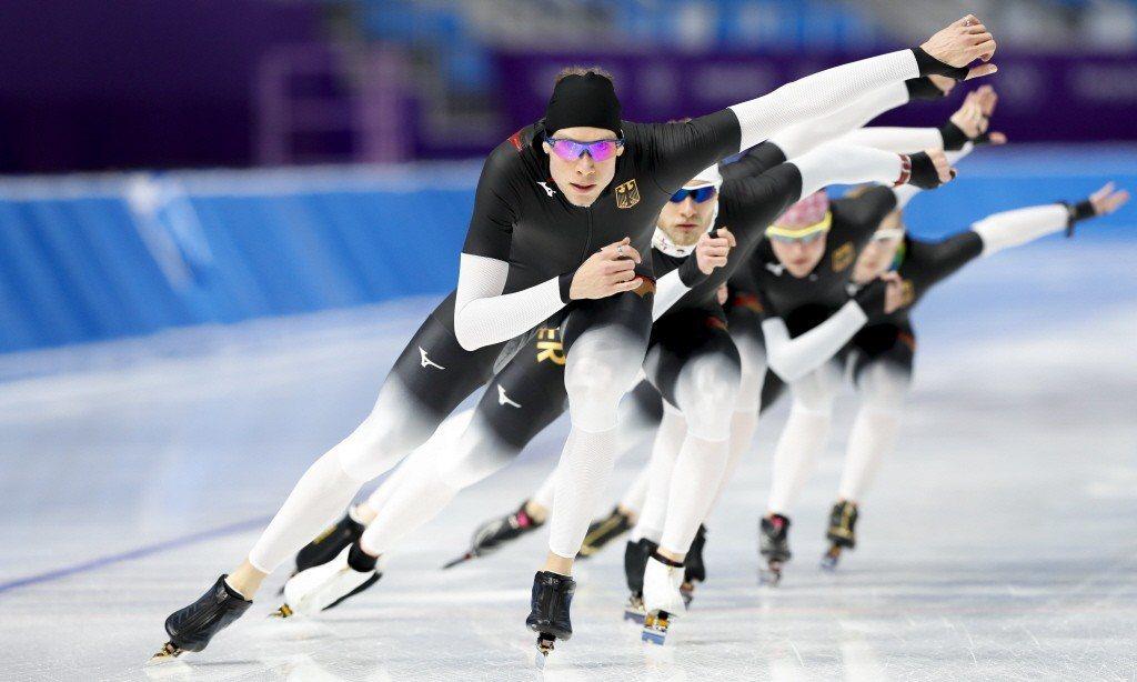 對於身處亞熱帶的台灣而言,冬季運動是十分遙遠的想像。 圖/歐新社