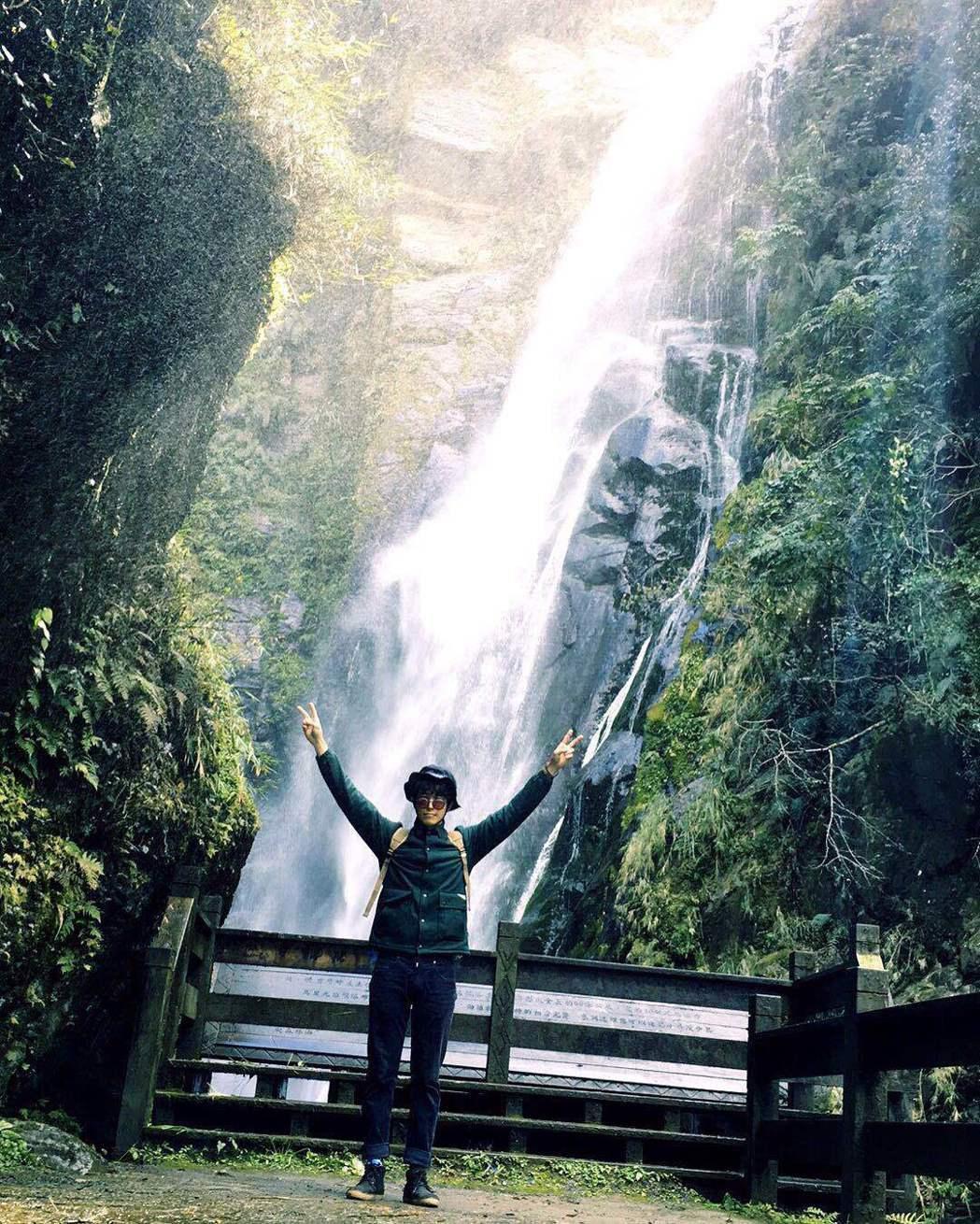 劉以豪只要一有空閒時間,就會把握出外露營,與大自然親近,讓他更容易沉澱自己。圖/...