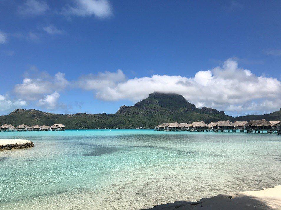 天氣超好的Bora Bora。圖文來自於:TripPlus