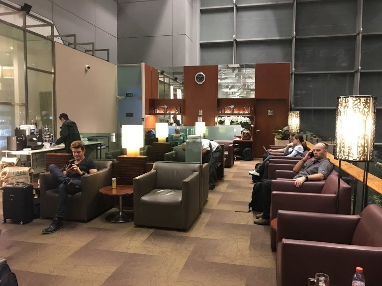 Singapore Airlines Krisflyer Gold Lounge...