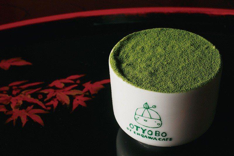 焼麩の日本酒ティラミス(抹茶提拉米蘇)¥432/京都日本酒和馬斯卡朋起司奶油相互...