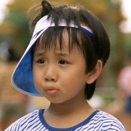 小彬彬飾演古靈精怪的孤兒。圖/摘自HKMDB