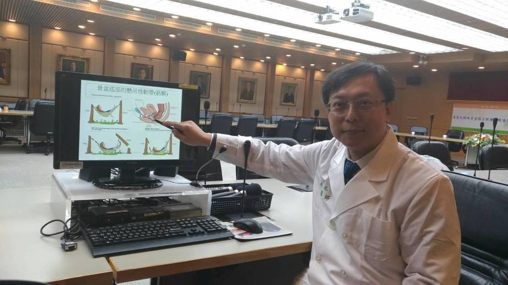 台大婦產部主治醫師張廷禎表示,懷孕和生產是女性骨盆器官脫垂的最常見原因,生產次數...