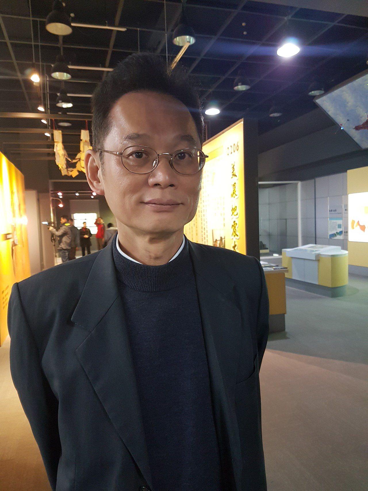 氣象局地震測報中心代理主任陳國昌 記者修瑞瑩/攝影
