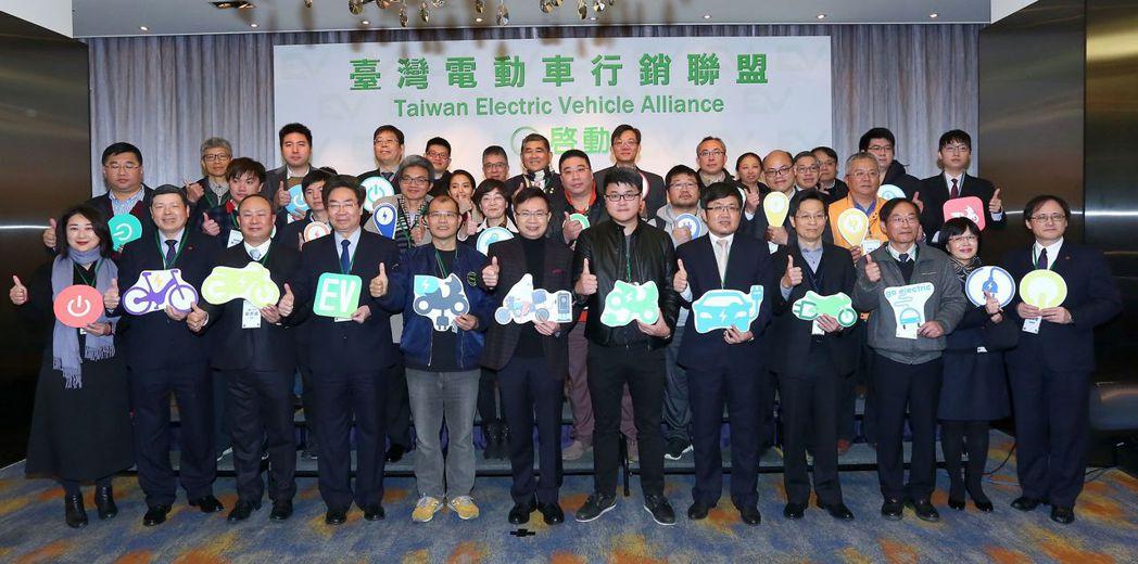 貿協籌組電動車行銷聯盟,以國家隊的方式,拓銷電動車海外市場。 圖/外貿協會提供