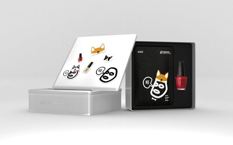 OPI X提提研限量聯名禮盒,售價1,200元。圖/OPI提供