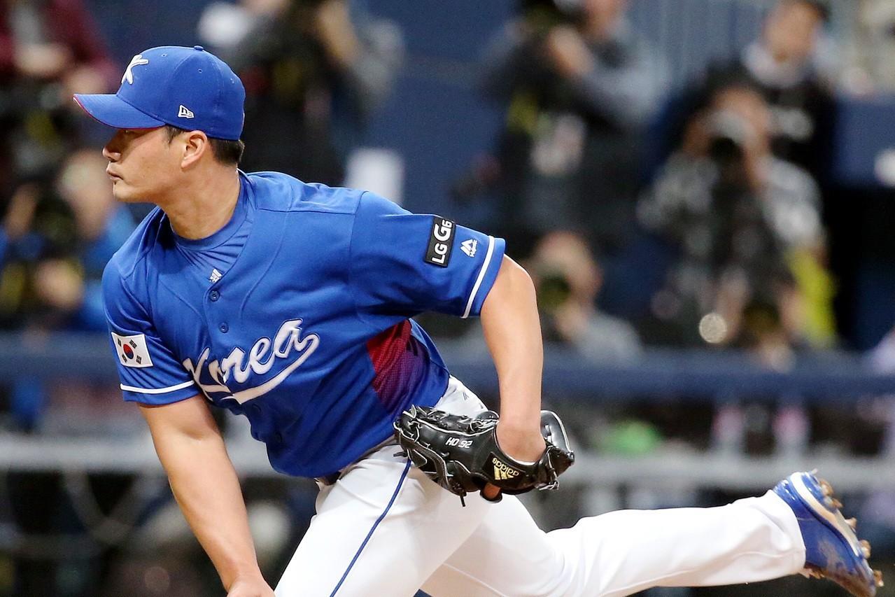 南韓籍投手吳昇桓。 圖/聯合報系資料照片
