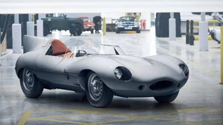 (影音) Jaguar復刻傳奇賽車 將製造25輛D-Type重回榮耀時刻
