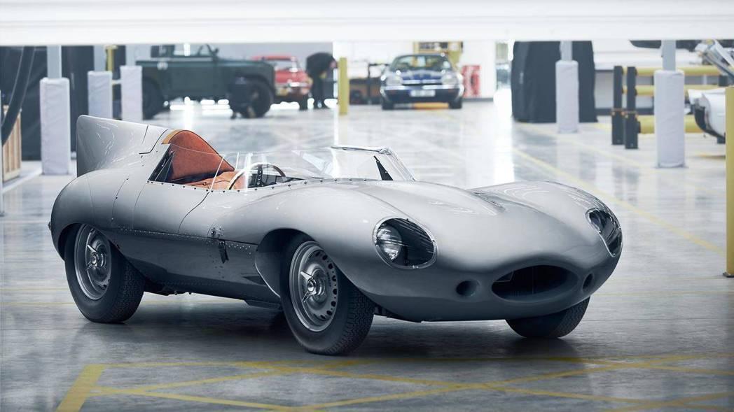 Jaguar D-Type復刻車。 摘自Jaguar