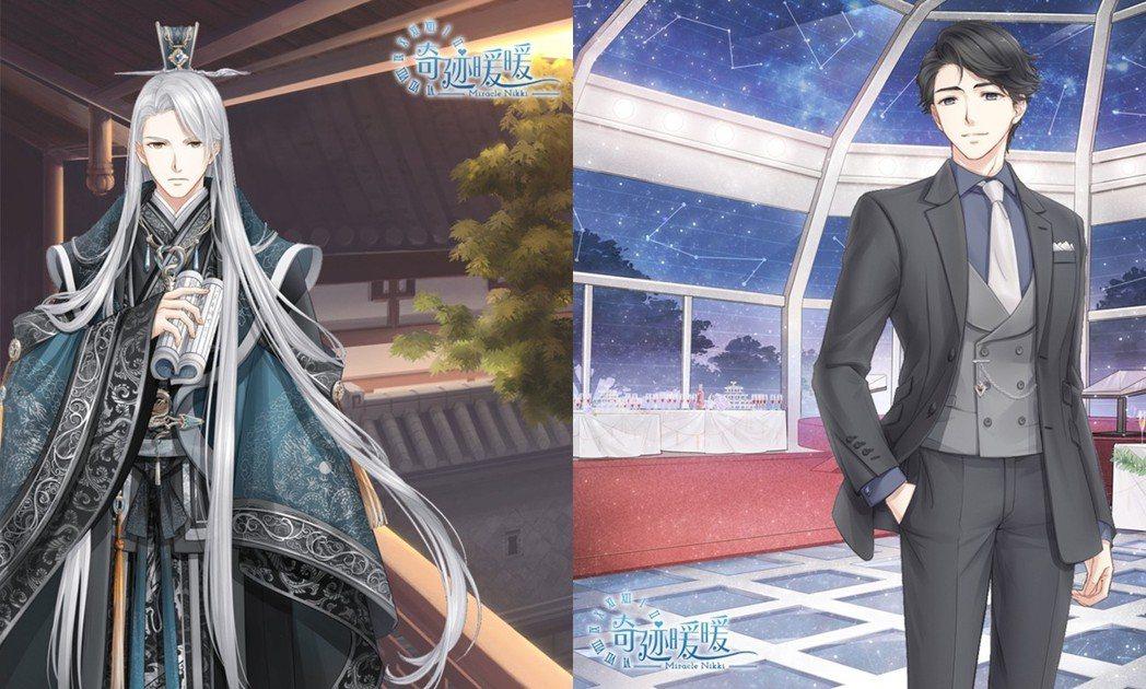 第17章中主線劇情新登場的角色「白永羲」、「瑞德」。