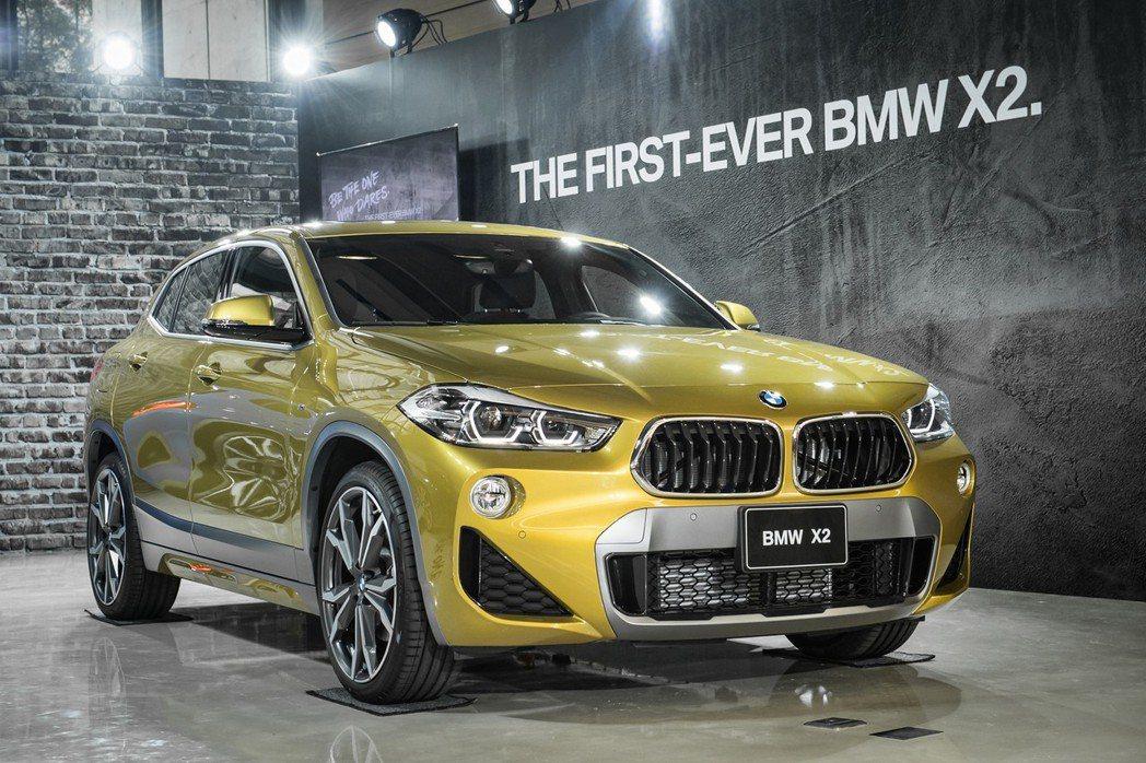 身為BMW X家族的第6位成員,全新首創BMW X2豪華跨界跑旅SAC ( Sp...