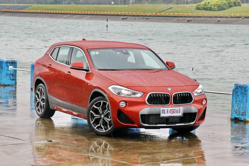 BMW X2 sDrive20i M Sport X。 記者陳威任/攝影